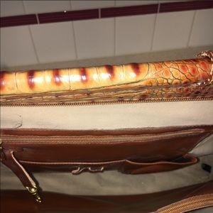 Almond Brahmin briefcase